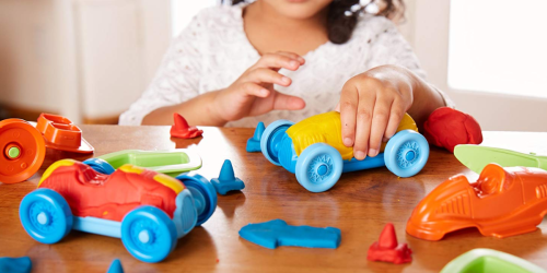Green Toys Race Car Maker Dough Activity Set Only $5.54 (Regularly $25) – Ships w/ $25 Amazon Order