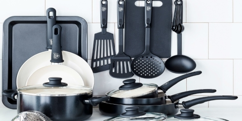 GreenLife Healthy Ceramic Non-Stick 18-Piece Cookware Set Only $39.97 at Walmart