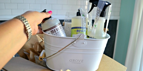 FREE Mrs. Meyer's Cleaning Bundle AND Bonus Gift w/ $20 Grove Collaborative Order
