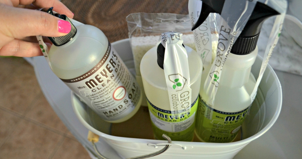 Grove Collaborative cleaning caddy
