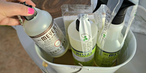 FREE Mrs. Meyer's Cleaning Supplies w/ $20 Grove Collaborative Order