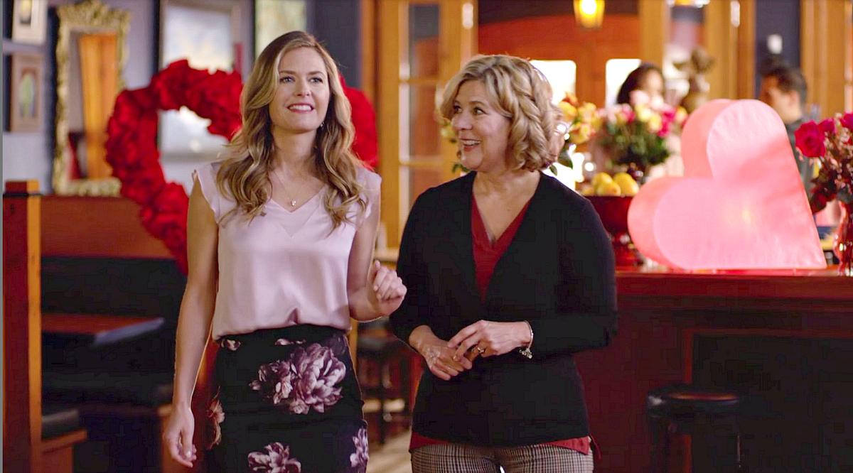 Hallmark channel valentine's day movies – two women talking