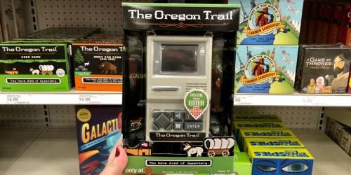 Oregon Trail Handheld Game Just $8.49 Shipped at Target (Regularly $17) | Fun Stocking Stuffer