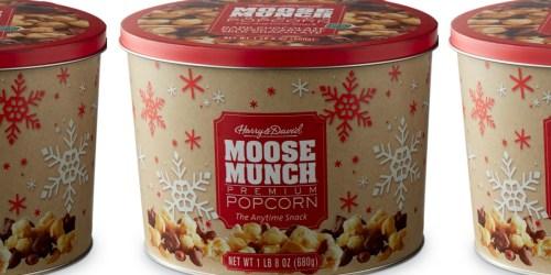 Macy's: Harry & David Moose Munch Gourmet Popcorn Tin Only $3.40 (Regularly $34) + More