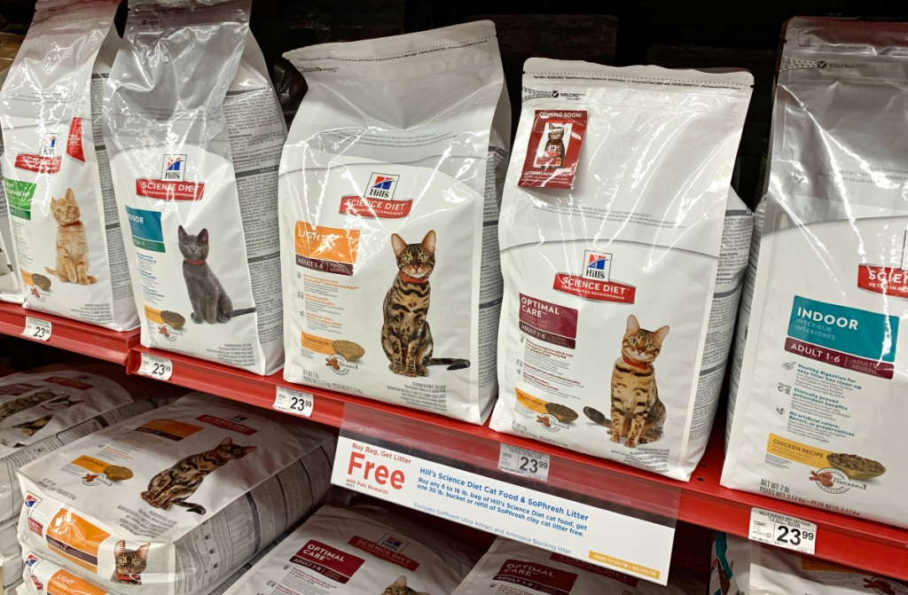 Hill's Science Diet cat food at Petco