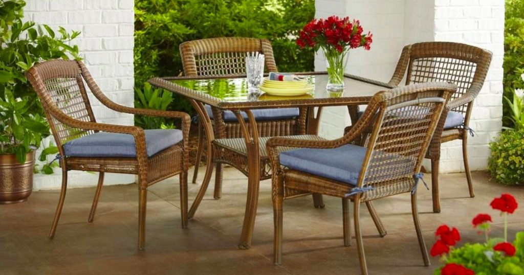 a8bbf8190ef Over 50% Off Patio Furniture Dining Sets at Home Depot + FREE Delivery