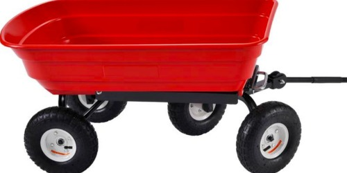 Muscle Rack Plastic Garden Dump Cart Only $34.50 (Regularly $69) at The Home Depot