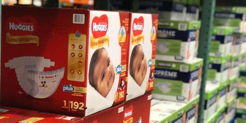 $8.50 Off Huggies Plus Diapers at Costco