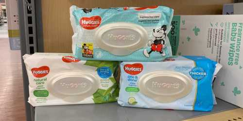 Huggies Wipes Only 59¢ After Cash Back at Walmart