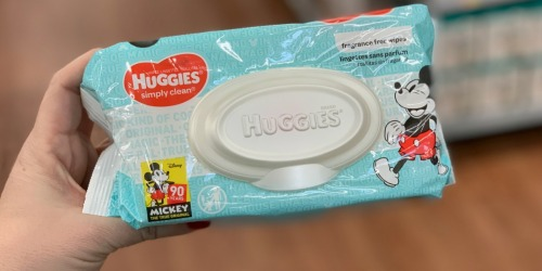 Huggies Wipes Only 84¢ After Cash Back at Walmart