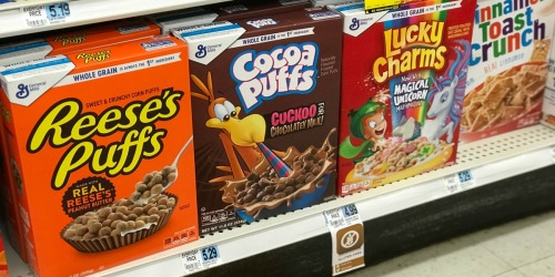 Cheap General Mills Cereals, Centrum Vitamins & More at Rite Aid Starting 1/13
