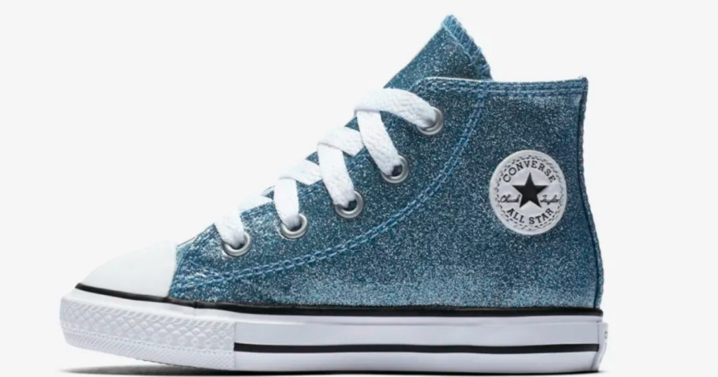 5b0956aa75c9 Here are a few deals to score… Infants  Converse Chuck Taylor All Star  Glitter High Tops ...