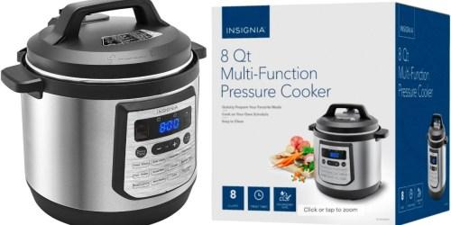 Insignia 8-Quart Pressure Cooker Just $49.99 Shipped (Regularly $120)