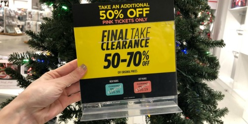 Up to 85% Of Holiday Clearance at JCPenney Stores