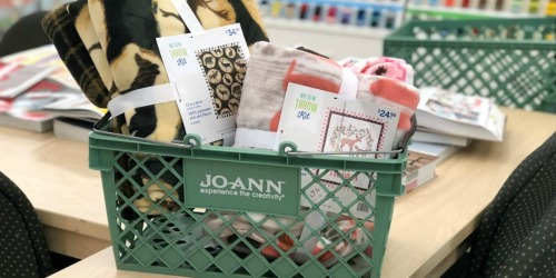 15% Off ENTIRE JoAnn Fabric & Craft Stores Purchase (In-Store and Online) – No Exclusions