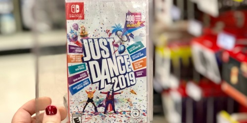 Just Dance 2019 Nintendo Switch Game Only $18 (Regularly $40)