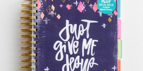 Illustrated Faith 18-Month Agenda Planner Just $5 on Dayspring (Regularly $30) & More