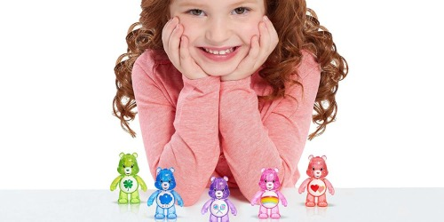 Care Bears Glitter Fun Figure 5-Pack Only $2.95 (Ships w/ $25 Amazon Order)