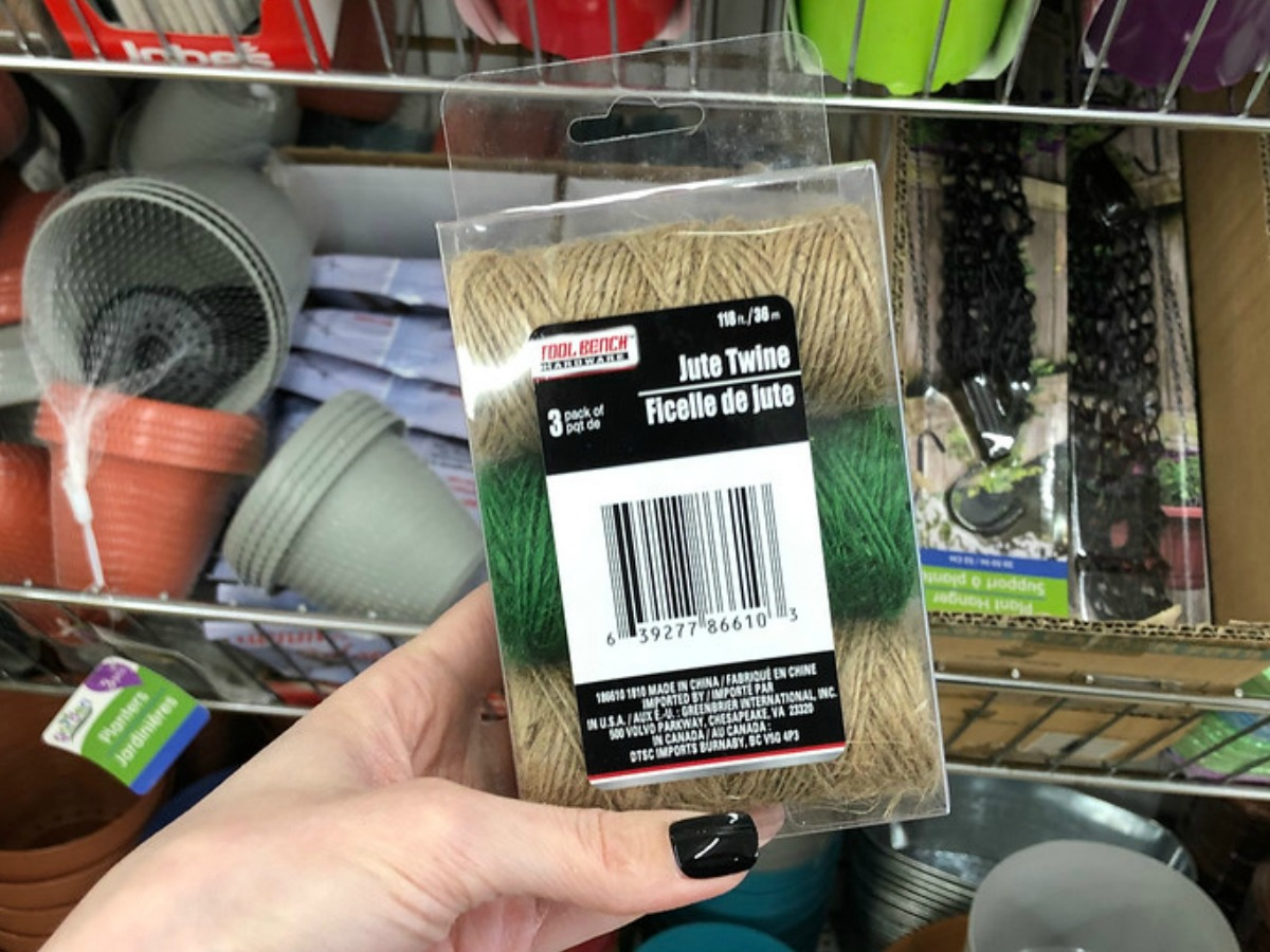Jute Twine at Dollar Tree