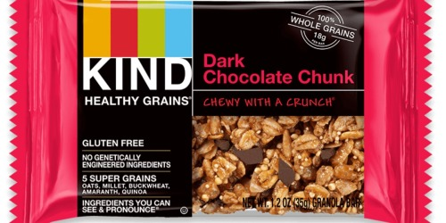 KIND Gluten Free Healthy Grains 30-Count Bars Only $13.57 Shipped (Just 45¢ Per Bar) at Amazon