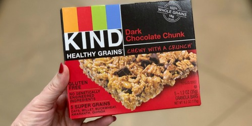 KIND Gluten Free Healthy Grains 30-Count BarsOnly $13.57 Shipped (Just 45¢ Per Bar) at Amazon