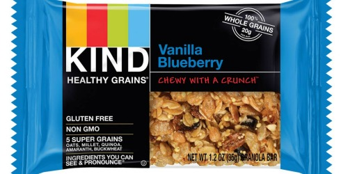 KIND Gluten Free Healthy Grains 30-Count Bars Only $13.35 Shipped (Just 45¢ Per Bar) at Amazon