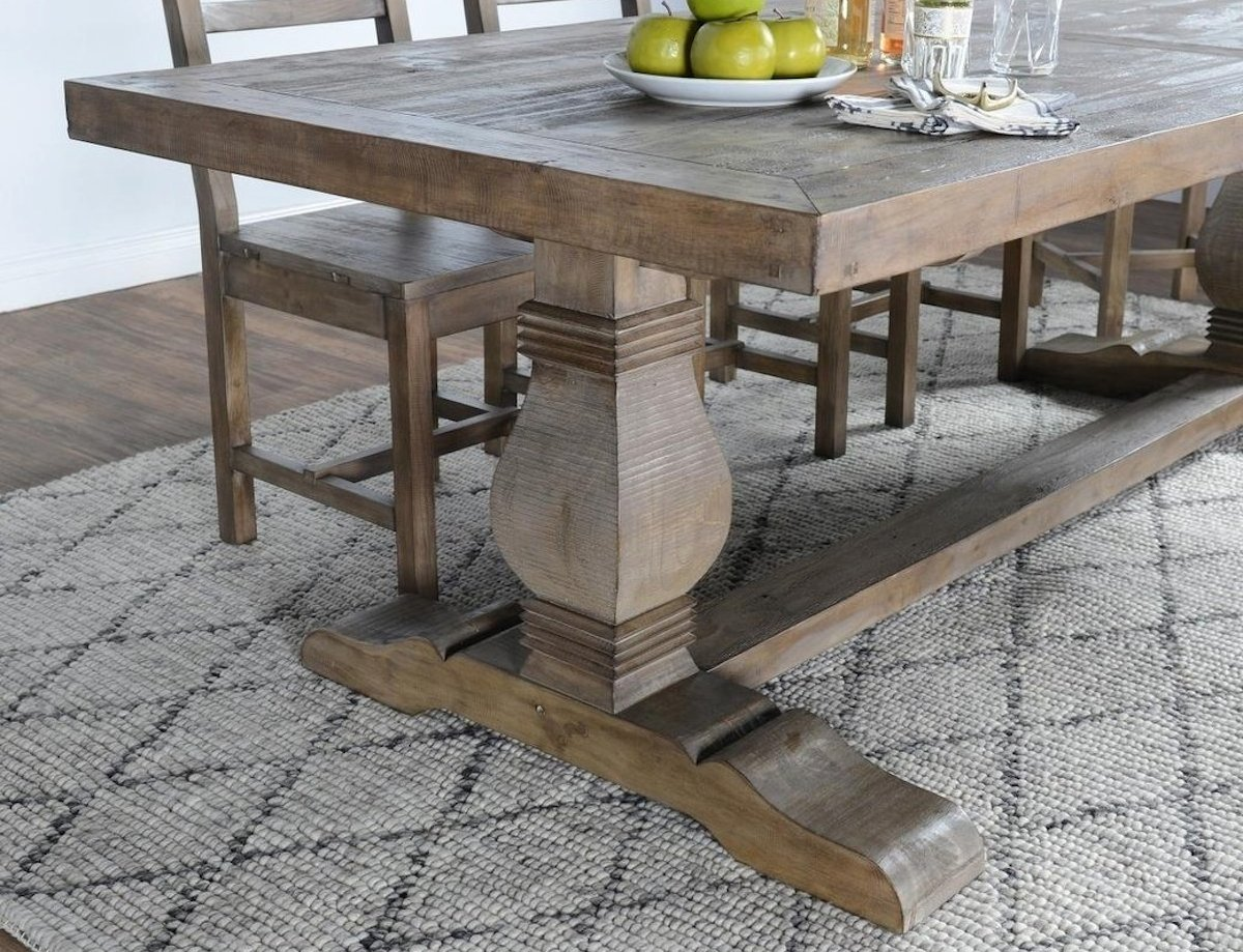 Restoration Hardware copycat items – overstock reclaimed wood table farmhouse salvaged