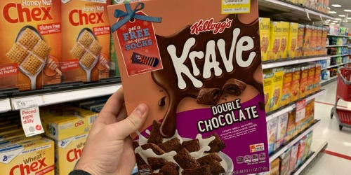 Kellogg's Krave Chocolate Cereal as Low as 28¢ After Cash Back at Target & More