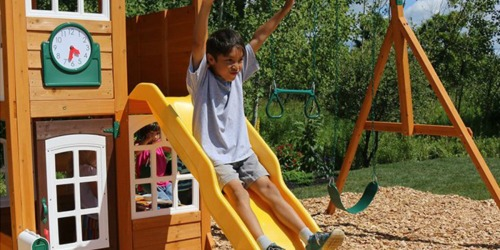 KidKraft Wooden Outdoor Playset Just $574.94 Shipped on Zulily (Regularly $1,200)