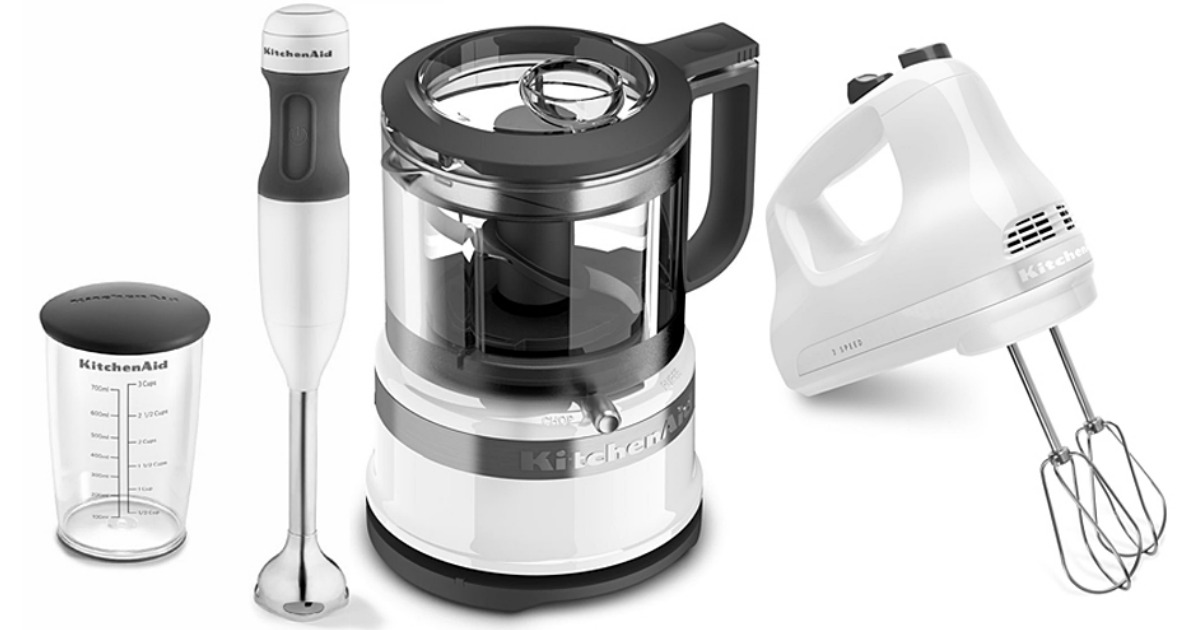KitchenAid Hand Blender, Food Chopper & Hand Mixer Set Just ...