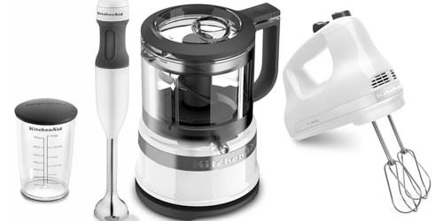 KitchenAid Hand Blender, Food Chopper & Hand Mixer Set Just $89.99 Shipped