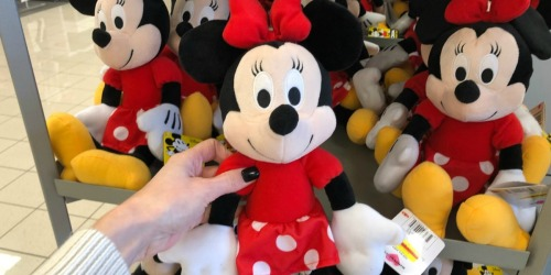 Kohl's Cares Mickey & Minnie Plush Possibly Only $2.50 (Regularly $5)