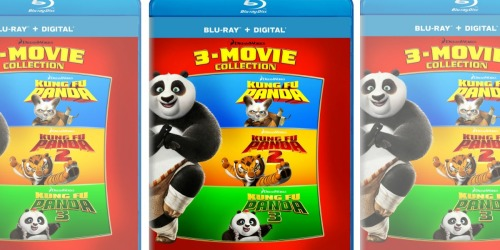Amazon: Kung Fu Panda 3-Movie Blu-ray Collection Only $14.99 Shipped (Just $5 Per Movie)