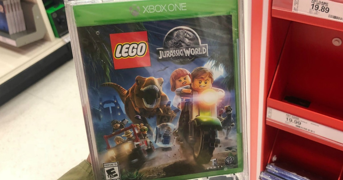 LEGO Jurassic Park game