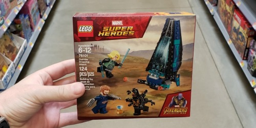 LEGO Marvel Avengers Outrider Dropship Set Just $10 + More