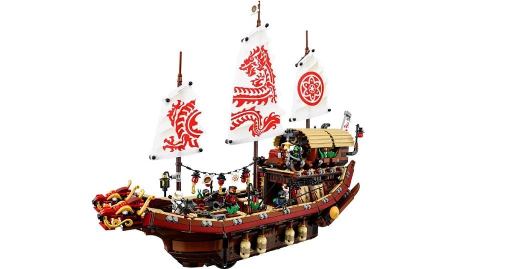 LEGO Ninjago Movie Destiny's Bounty ship model