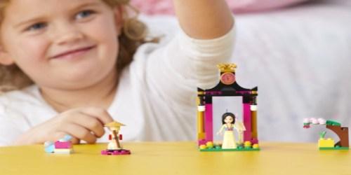 Amazon: LEGO Disney Princess Mulan's Training Day Only $10.99 Shipped (Regularly $15) + More