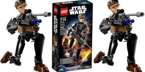 LEGO Star Wars Jyn Erso Buildable Figure Only $4.99 (Regularly $25)