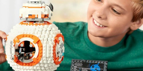 LEGO Star Wars BB-8 Building Kit Only $70.99 Shipped (Includes Over 1,000 Pieces)