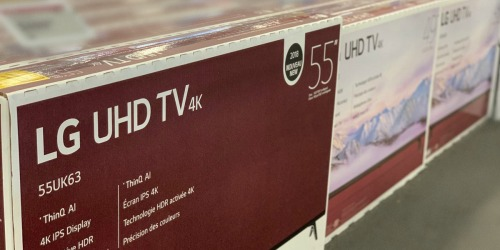Up to 50% Off LG 4K Smart TVs + FREE Shipping