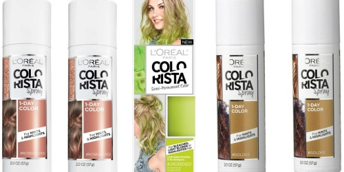 L'Oreal Paris Colorista Hair Color Only $3.60 Shipped + More at Amazon