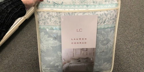 Over 60% Off Lauren Conrad Comforter Sets & More + Earn Kohl's Cash