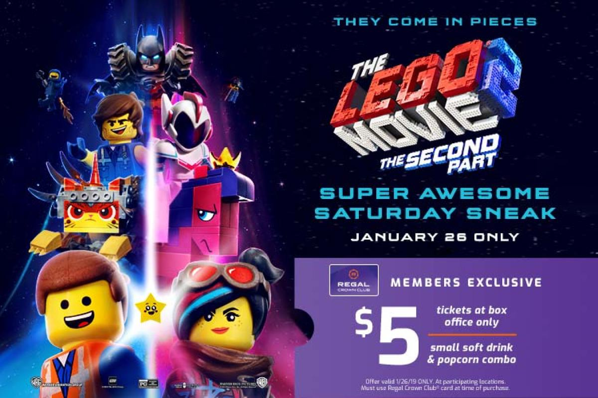 The LEGO Movie 2: The Second Part Early Release Movie