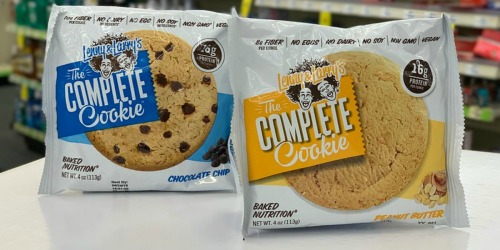 Lenny & Larry's The Complete Cookie Only $1.22 Each at CVS