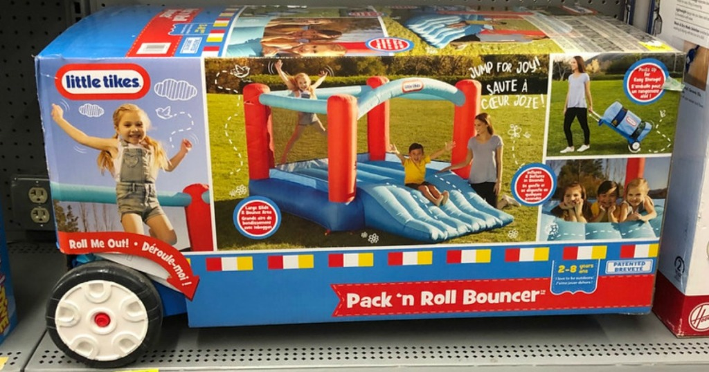 Little Tikes Pack N Roll Inflatable Bounce House Possibly Only