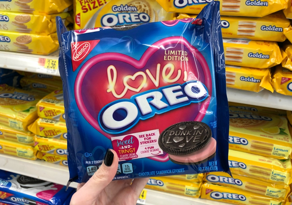 Love, Oreo strawberry cookies