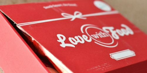 Love with Food Small Tastings Box ONLY $5.99 Shipped (Filled with Organic Snacks)
