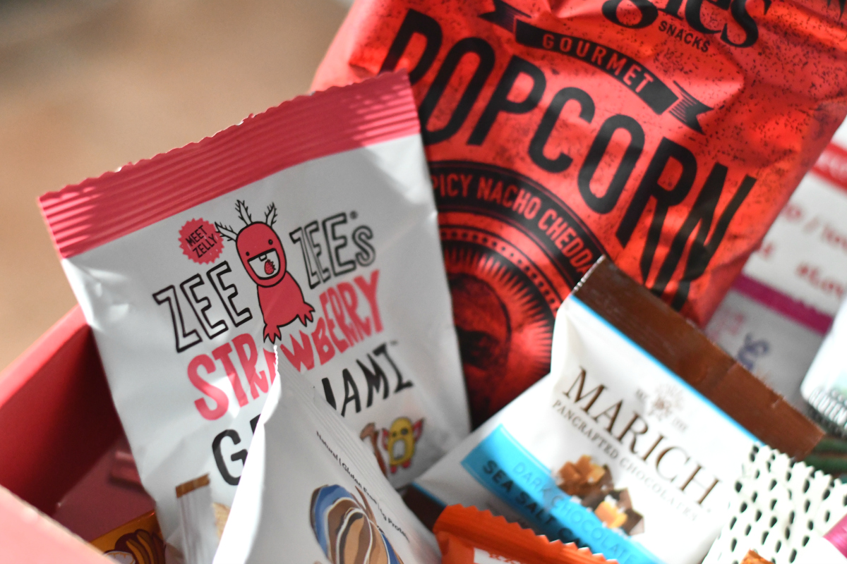 Love with Food Small Tastings Box Deal - Love with Food snacks inside the box