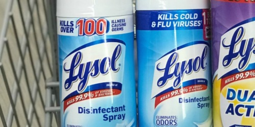 Lysol Disinfectant Spray 19oz Bottles 2-Pack Only $7.31 Shipped (Just $3.66 Each) at Amazon