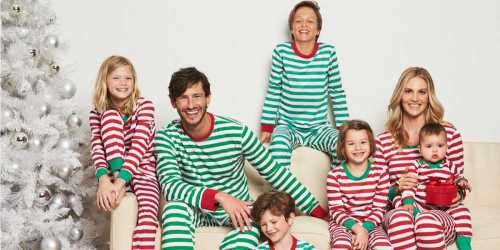 Five Pairs of Matching Holiday Family Pajamas Only $29.95 (Regularly $145)